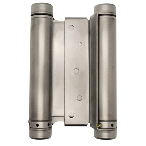 "6"" Double Action Spring Hinge- Satin Chrome"