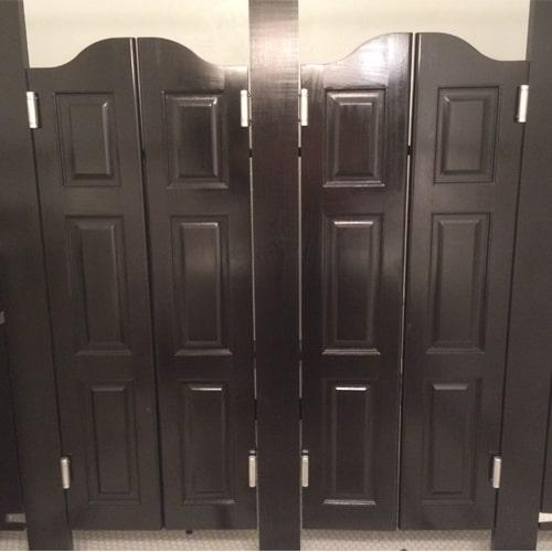 Arch Top Raised Panel Saloon Doors
