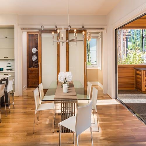 Modern French Interior Swinging Doors