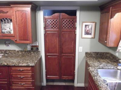Full Length Kitchen Swing Doors
