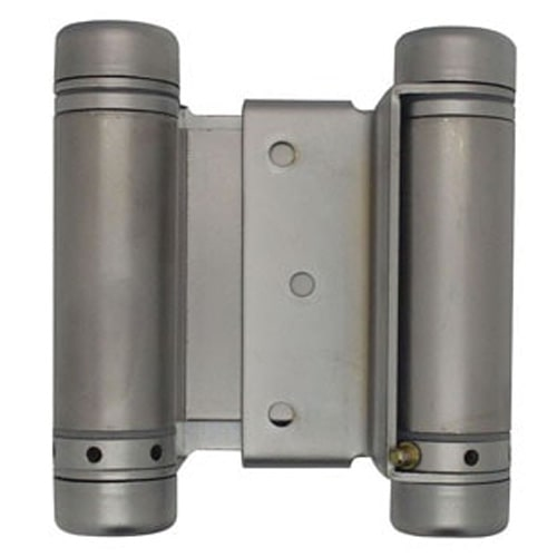 "3"" Satin Chrome Double Action Spring Hinge"
