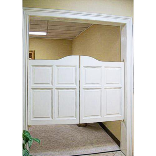 Arch Top Raised Panel SAloon Doors- Wide Doors