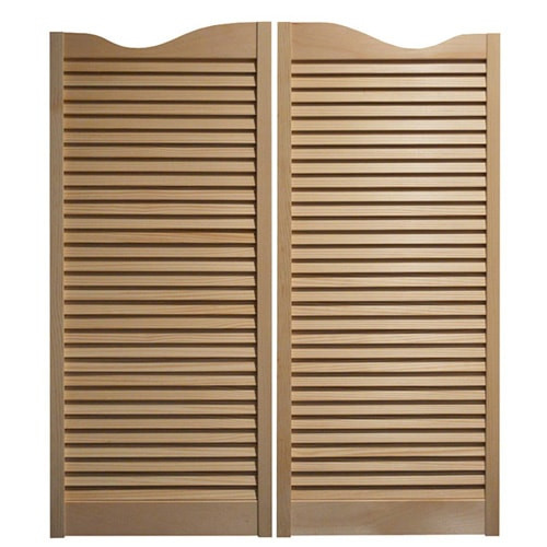 Louvered Saloon Doors Amp Hinges Fits Any 36 Quot 3 Door Opening