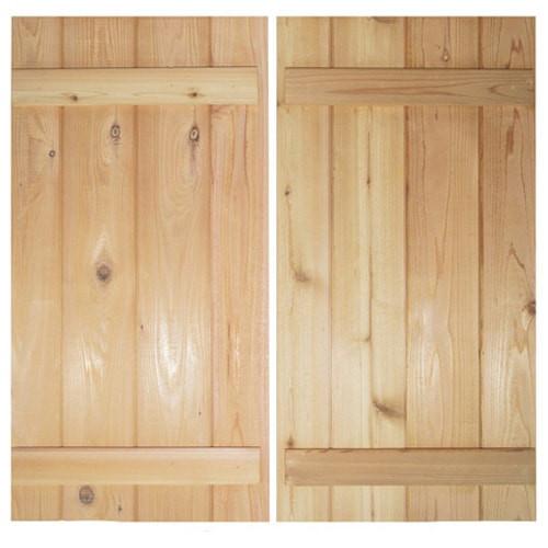 Board and Batten Rustic Saloon Doors | Double Swing Doors