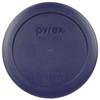 Pyrex 7200-PC Dark Blue 2 Cup, 470ml Round Plastic Replacement Storage Lid