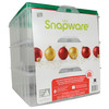 """Snapware Snap 'N Stack 1098801 3 Layer 13"""" X 13"""" Christmas Ornament Keeper"""