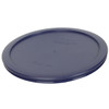 Pyrex 7402-PC 6 Cup Red and Blue Round Plastic Storage Lids