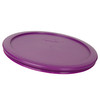 Pyrex (2) 7200-PC Butter Yellow, (1) 7201-PC Blue Spruce, (2) 7210-PC Jet Gray, & (1) 7402-PC Thistle Purple Food Storage Replacement Lids