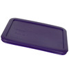 Pyrex (2) 7202-PC Jet Grey, (3) 7200-PC Plum Purple, (2) 7201-PC Orange, & (2) 7210-PC Plum Purple Food Storage Replacement Lids