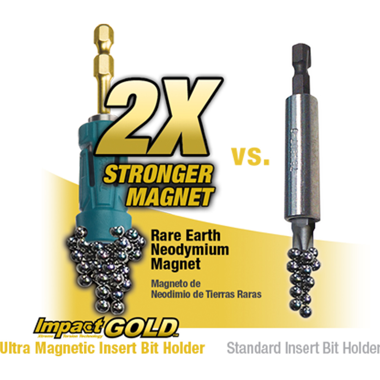 "Makita B-39609 Impact Gold #1 Phillips 1//4/"" Hex 3-1//2"" Double-Ended Power Bit"