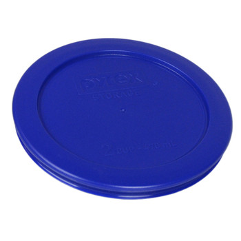 Pyrex 7200-PC Cobalt Blue 2 Cup, 470mL Round Plastic Replacement Lid