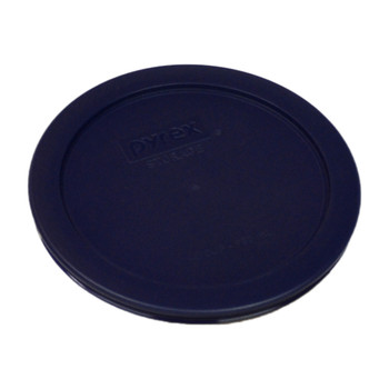 Pyrex 7201-PC Dark Blue 4 Cup, 950mL Round Plastic Replacement Lid