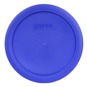 Pyrex 7201-PC Cobalt Blue 4 Cup, 950ml Round Plastic Storage Lid
