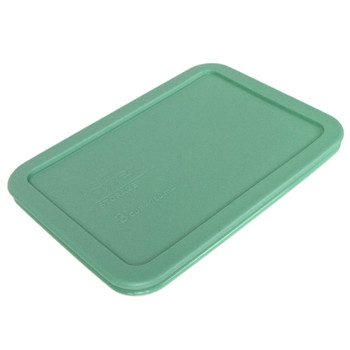 Pyrex 7210-PC Light Green Rectangle Plastic Replacement Lid