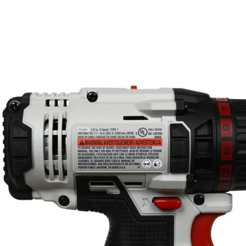 Porter Cable PCC601 20V 1/2in Drill Driver, Tool Only