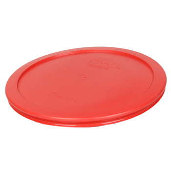 Pyrex 7402-PC Red 6/7 Cup, 1.6L Round Plastic Replacement Lid