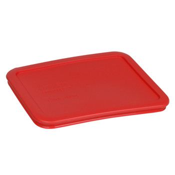 Pyrex 7210-PC Red 3 Cup, 750mL Plastic Rectangle Replacement Lid