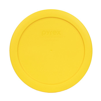 Pyrex 7201-PC Lemon Yellow 4 Cup, 950ml Food Container Lid
