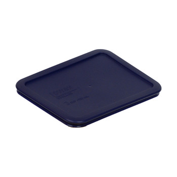 Pyrex 7210-PC Dark Blue 3 Cup, 750mL Rectangle Plastic Replacement Lid