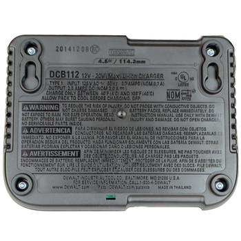 Dewalt DCB112 12V - 20V Max Li-Ion Charger