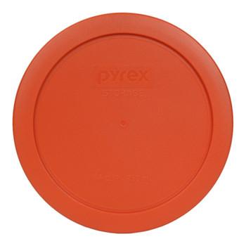 Pyrex 7201-PC Pumpkin Orange 4 Cup Round Plastic Replacement Lid
