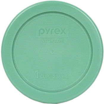 Pyrex 7202-PC Green 1 Cup, 236mL Round Plastic Replacement Lid