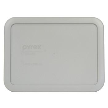 Pyrex 7210-PC Grey 3 Cup 750mL Rectangle Plastic Lid - 4 Lids