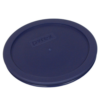 Pyrex 7402-PC Dark Blue 6/7 Cup, 1.6L Round Plastic Replacement Lid