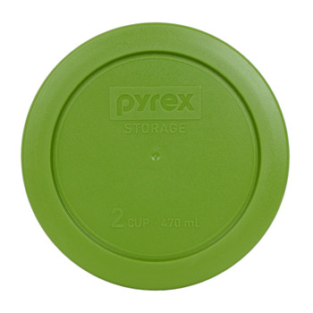 Pyrex 7200-PC Lawn Green 2 Cup, 470mL Round Plastic Replacement Lid