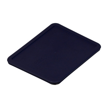 Pyrex 7212-PC Dark Blue 11 Cup, 2.6L Rectangle Plastic Replacement Lid