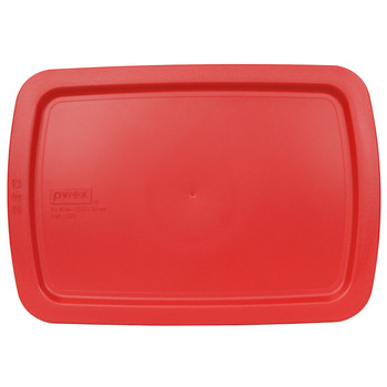 Pyrex Easy Grab C-233-PC Red Lid for 3qt Oblong Glass Baking Dish