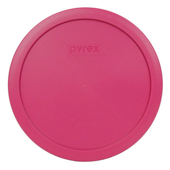Pyrex 7402-PC Fuchsia 6/7 Cup, 1.6L Round Plastic Replacement Lid