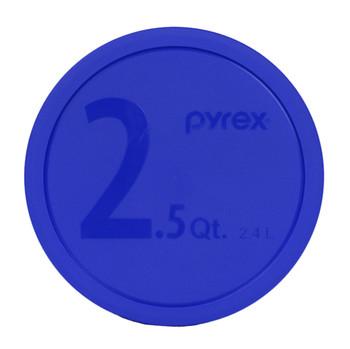 Pyrex (1) Orange 323-PC 1.5 Qt (1) 325-PC Blue 2.5 Qt (1) 326-PC Red 4 Qt Lid - 3 Lids
