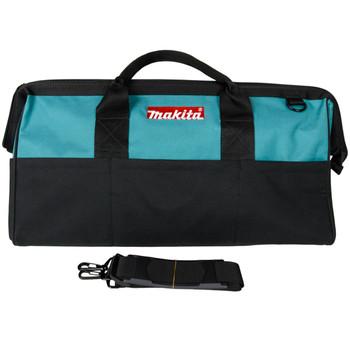 "Makita 21"" × 12"" × 12"" Contractor Tool Bag Organizer with Shoulder Strap"