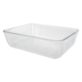 Pyrex simply store 7211 6 cup rectangle glass storage dish