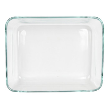 Pyrex 7211 6 cup oblong clear glass storage dish