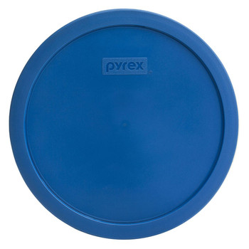 Pyrex 7401-PC Lake Blue 3 Cup, 750mL Round Plastic Replacement Lid
