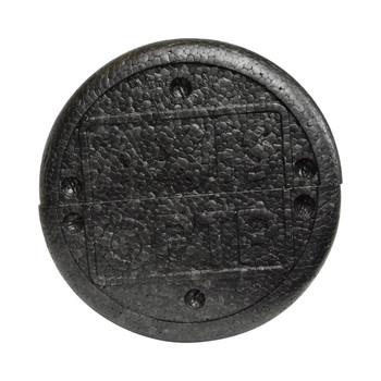 """OPTP AXIS AXR366 36"""" x 6"""" Black Firm High-Density Foam Roller"""