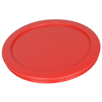 Pyrex 7201-PC Red, White, and Navy Blue 4-Cup Plastic Replacement Lids