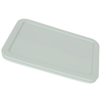 Pyrex 7210-PC Muddy Aqua 3 Cup, 750mL Rectangle Storage Container Lid