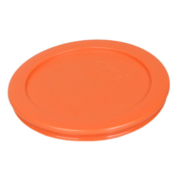 Pyrex Simply Store (2) 7200-PC Orange, (1) 7201-PC Blue, (2) 7210-PC Green, and (1) 7402-PC Red Replacement Lids