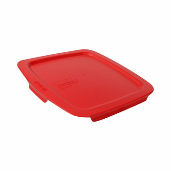 Pyrex C-222-PC 2qt and C-233-PC 3qt Red Easy Grab Replacement Lids