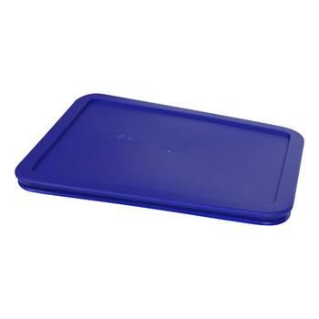 Pyrex Simply Store 5pc Cadet Blue Plastic Replacement Lid Bundle