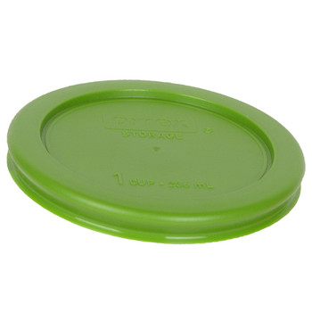 Pyrex 7202-PC Lawn Green 1 Cup, 236mL Round Plastic Replacement Lid