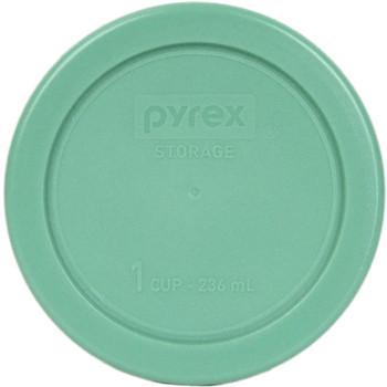 Pyrex Simply Store 7202-PC Green, 7200-PC Edamame Green, 7201-PC Pumpkin Orange, and 7210-PC Light Green 10pc Plastic Lid Set