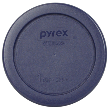Pyrex Simply Store 7202-PC Dark Blue, 7200-PC Cadet Blue, 7201-PC Muddy Aqua, and 7210-PC Charcoal Gray 10pc Plastic Lid Set
