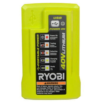Ryobi OP404 40V Lithium-Ion Battery Charger