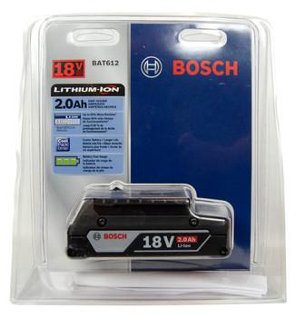 Bosch BAT612 18V Li-Ion 2.0Ah Compact Battery Pack