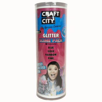 Craft City Candy Scented Glitter Slime Pack By Karina Garcia