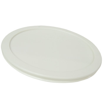 Pyrex 7402-PC White Round Plastic Replacement Lid Cover